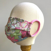 1 for 1 Program: Children's Cotton Mask in Mauvey Pink Liberty London Print