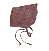 Scallop Bonnet in Cape Cod Red