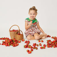 Very Hungry Caterpillar™ Strawberry Leaf Romper