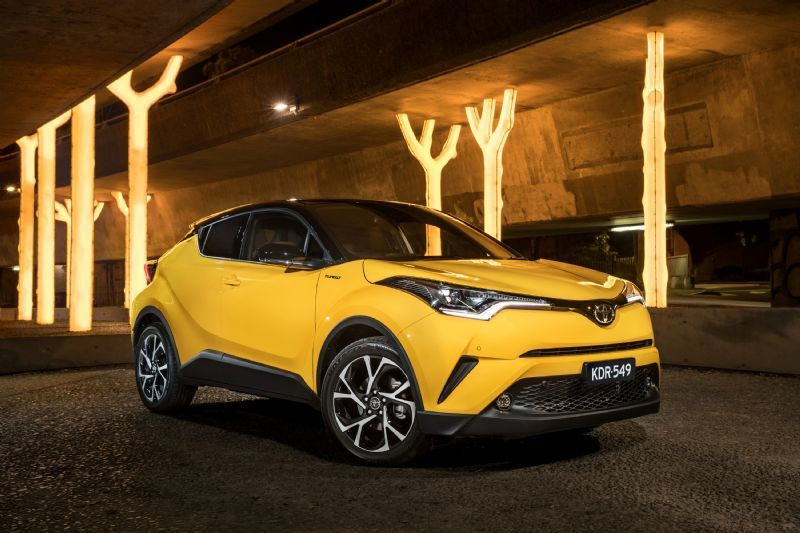 New Toyota C-HR SUV from $27K in Australia