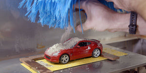 See how Nissan tests paint using mini car wash [video]