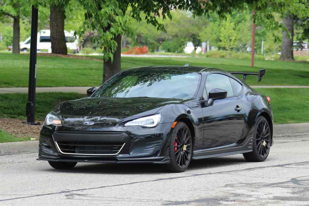 Subaru BRZ STi spied in the US