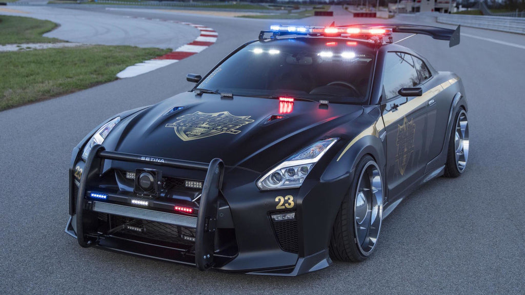 Meet Copzilla – the Nissan GT-R police car