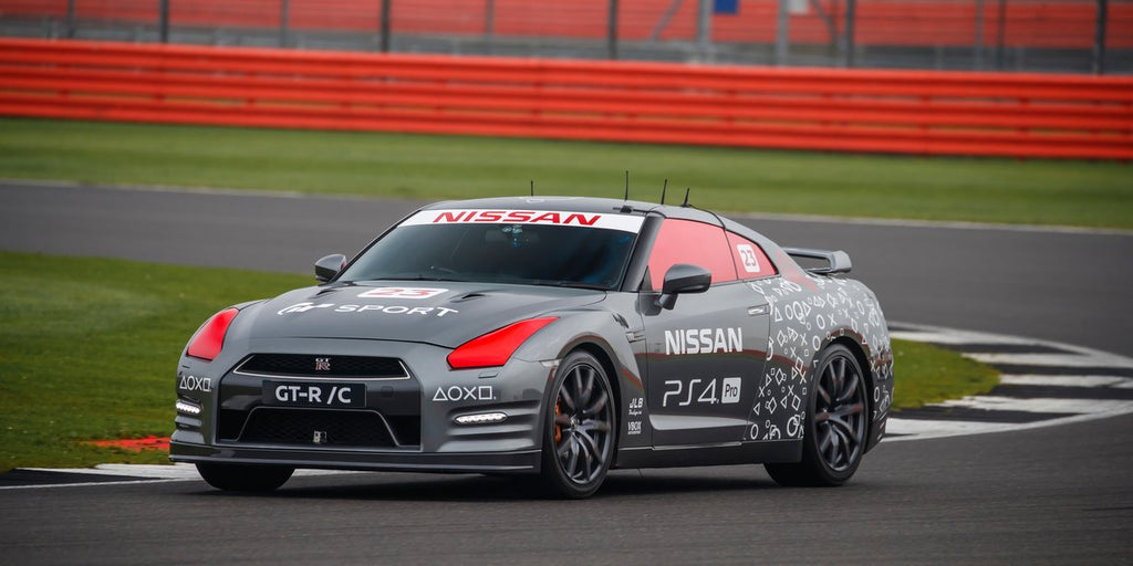 Nissan GT-R/C let loose at Silverstone [video]