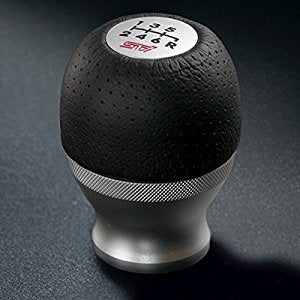 Subaru STi 6 Speed Aluminium and Leather Shift Knob