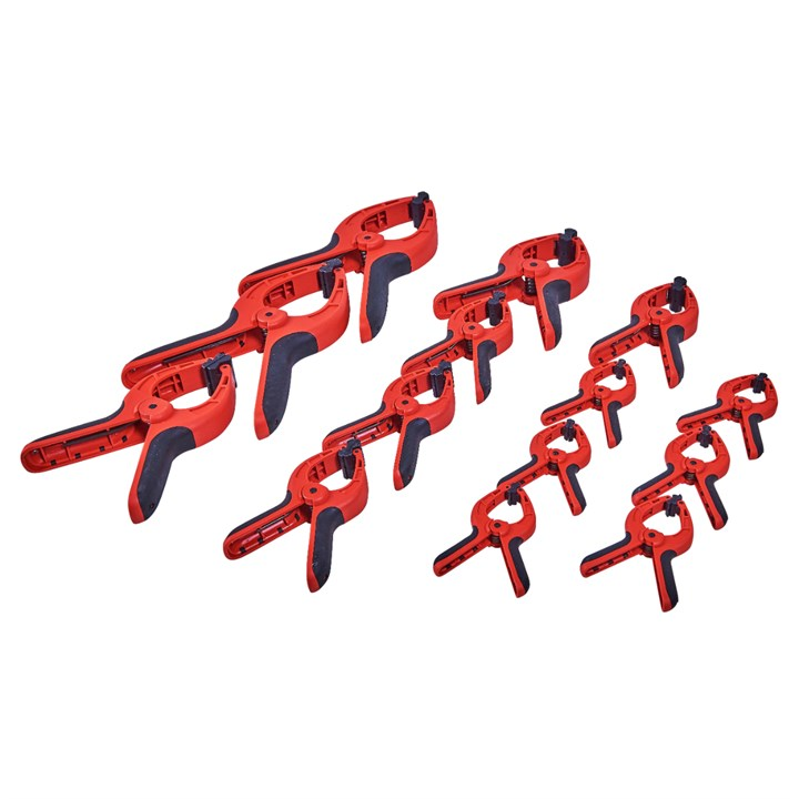 14pc Spring Clamp Set