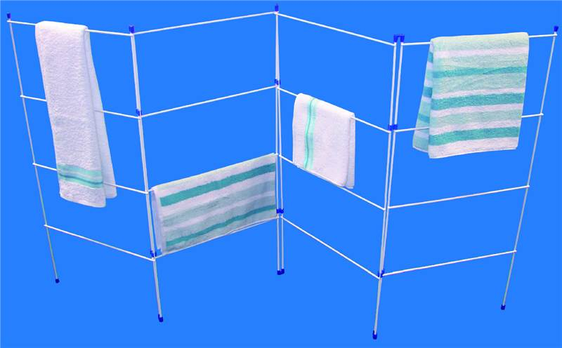4 Fold Clothes Airer