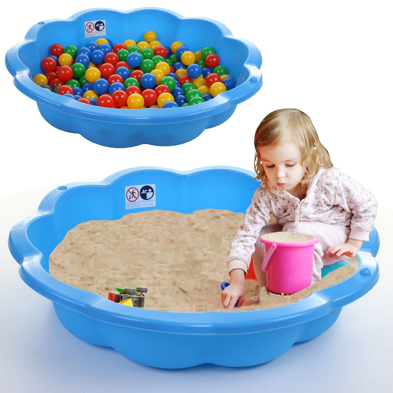 Plastic Shell Sand Pit