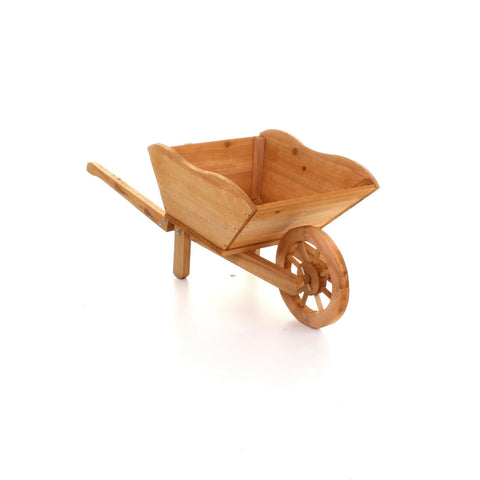 Wooden Wheelbarrow Planter Jmart Warehouse