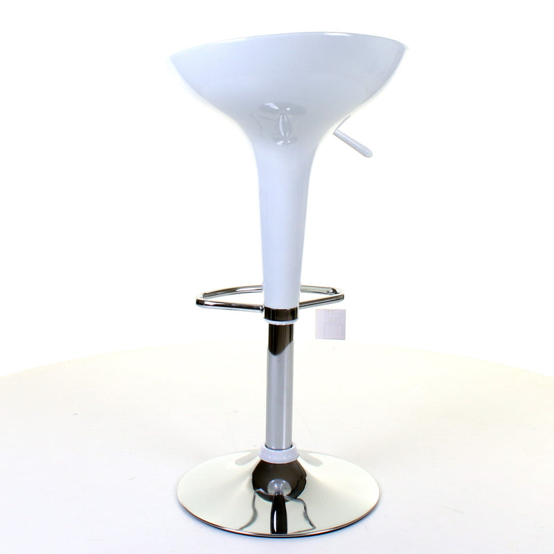 Boss Bar Stool - White