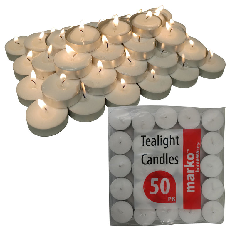 50 Tealight Candles