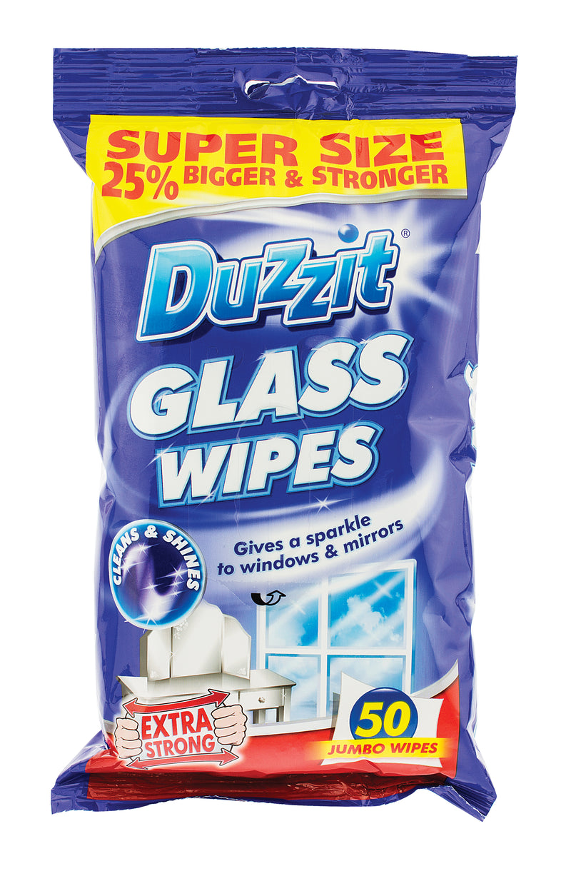 Glass Wipes 50pk