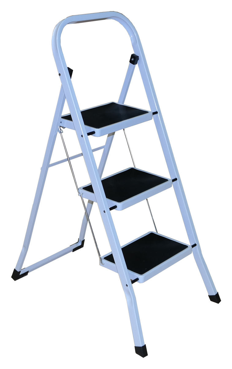 3 Step White Ladder