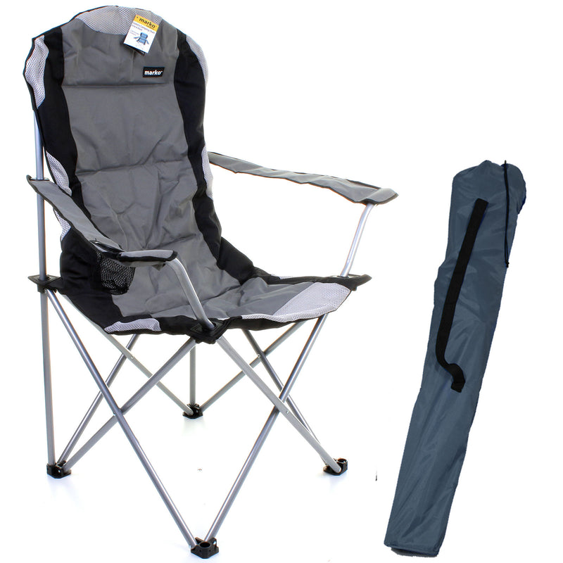 Luxury Padded Camping Chair