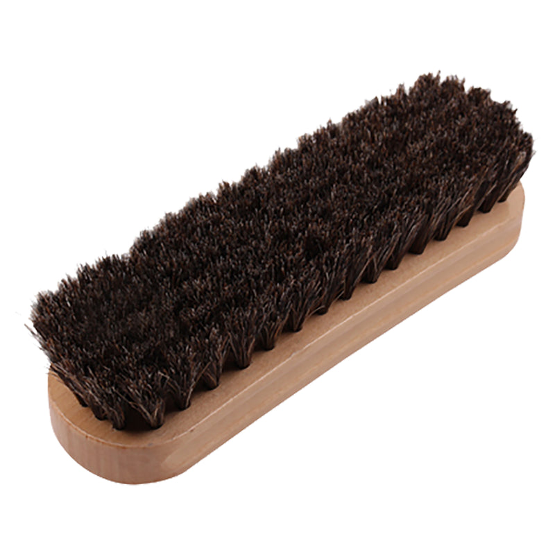 Shoe Brush with Wooden Handle
