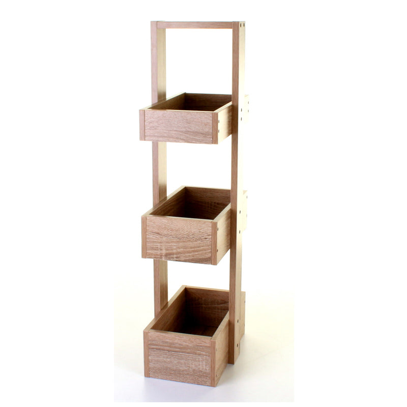 Wood Effect Storage Caddy