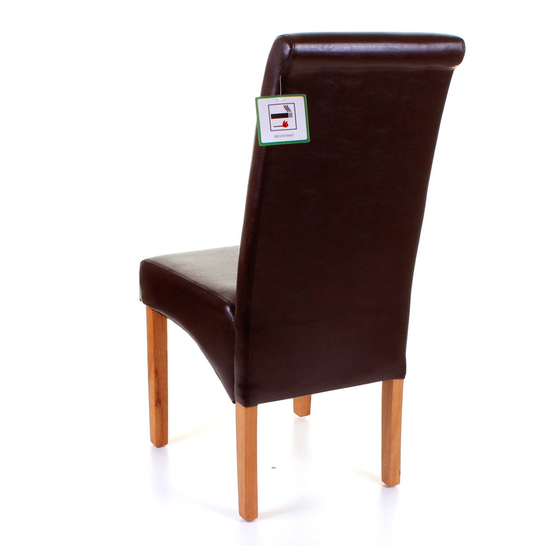 Dining Chair - Brown
