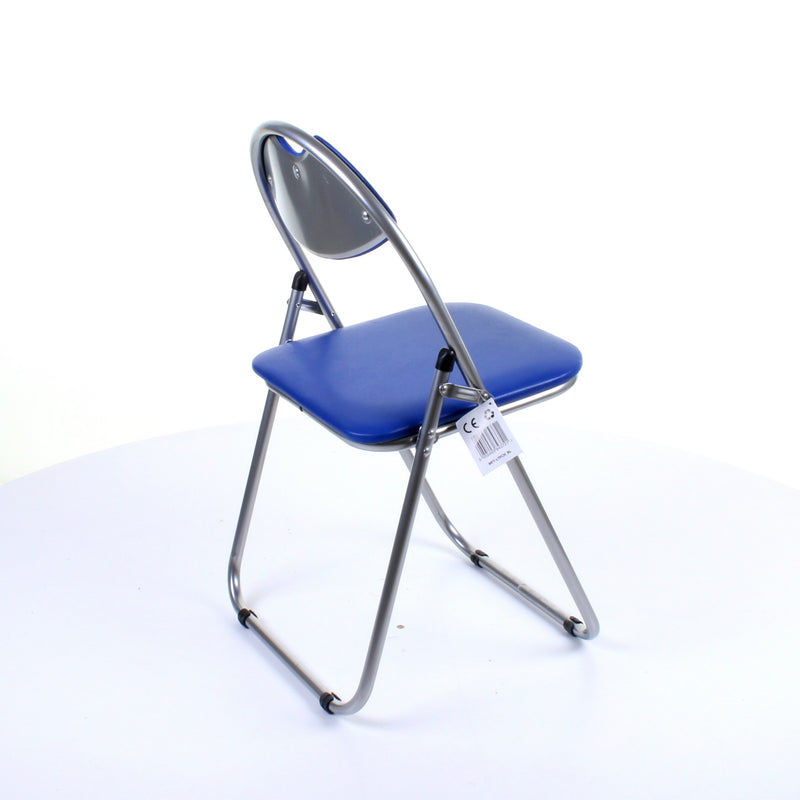 Blue Folding Chair