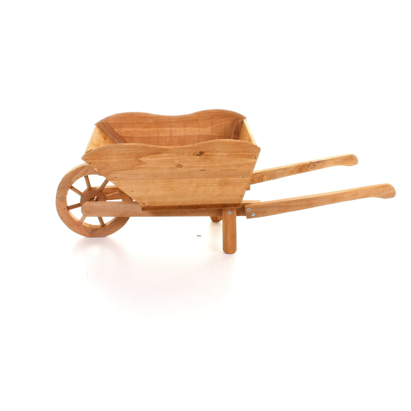 Wooden Wheelbarrow Planter