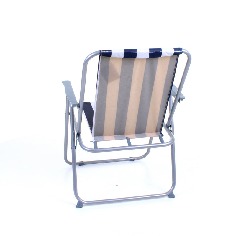Deck Chair - Blue/White Striped