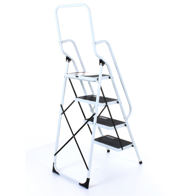 4 Step Ladder with Handrail