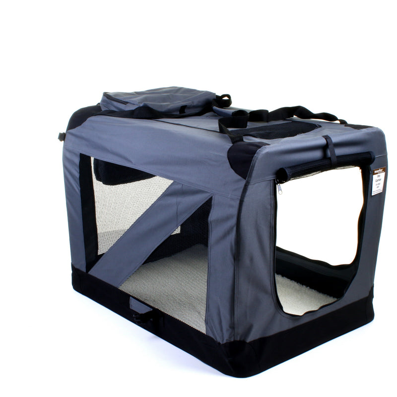 XX - Large Fabric Pet Carrier - Grey