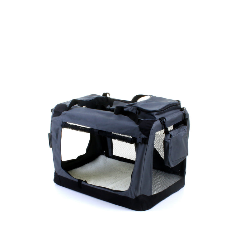 Medium Fabric Pet Carrier - Grey