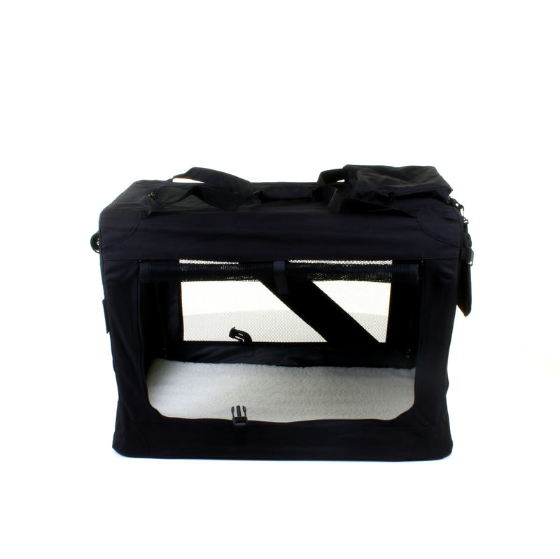 X - Large Fabric Pet Carrier - Black