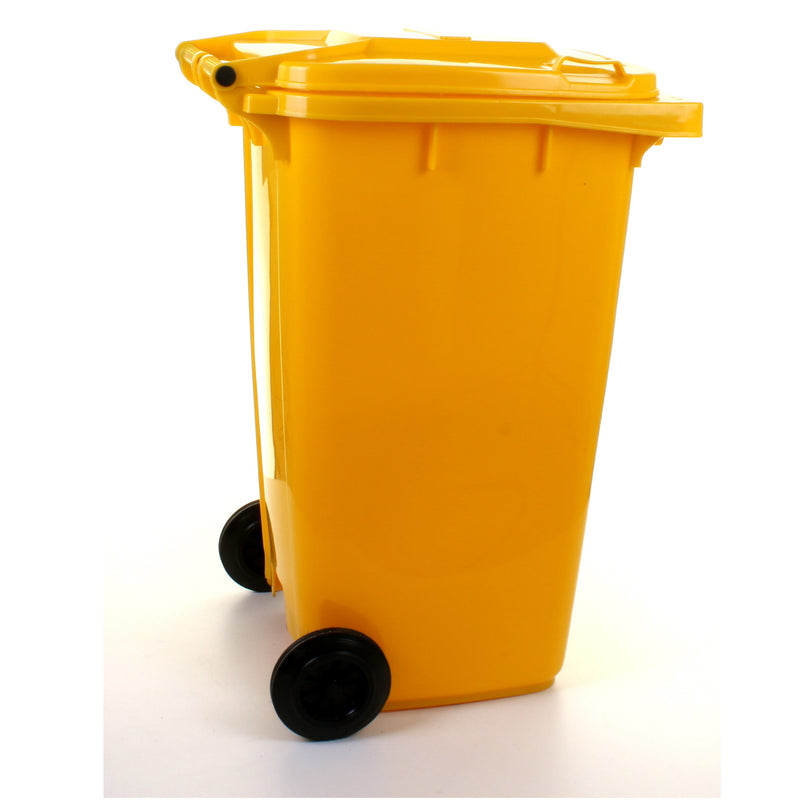 240L Wheelie Bin - Yellow