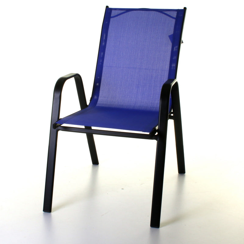 Textoline Chair - Blue