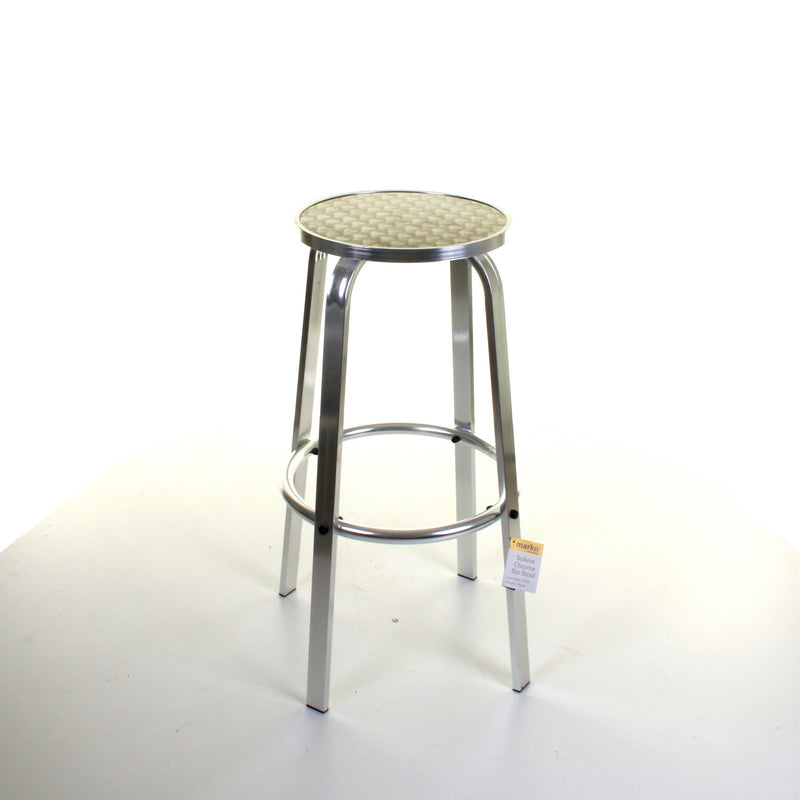 Chrome Bistro Soliera Stool
