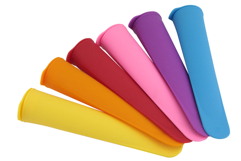 Silicone Ice Lolly Maker Set of 6