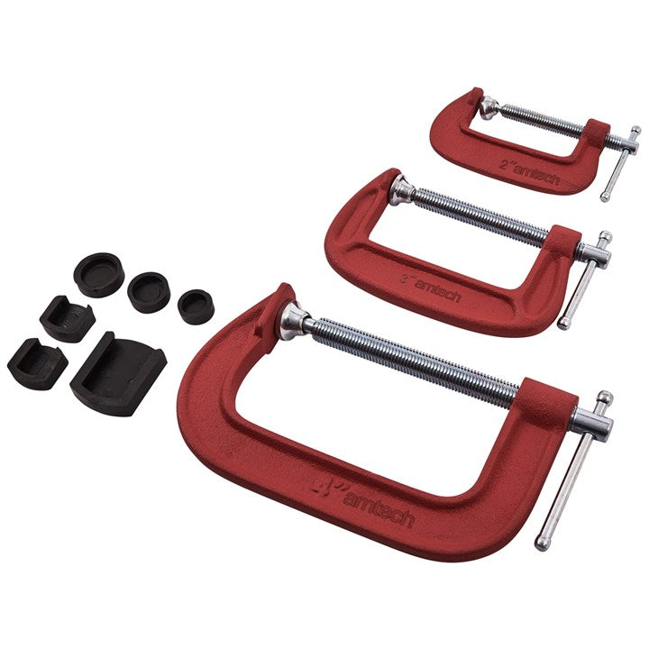 3pc G Clamp Set