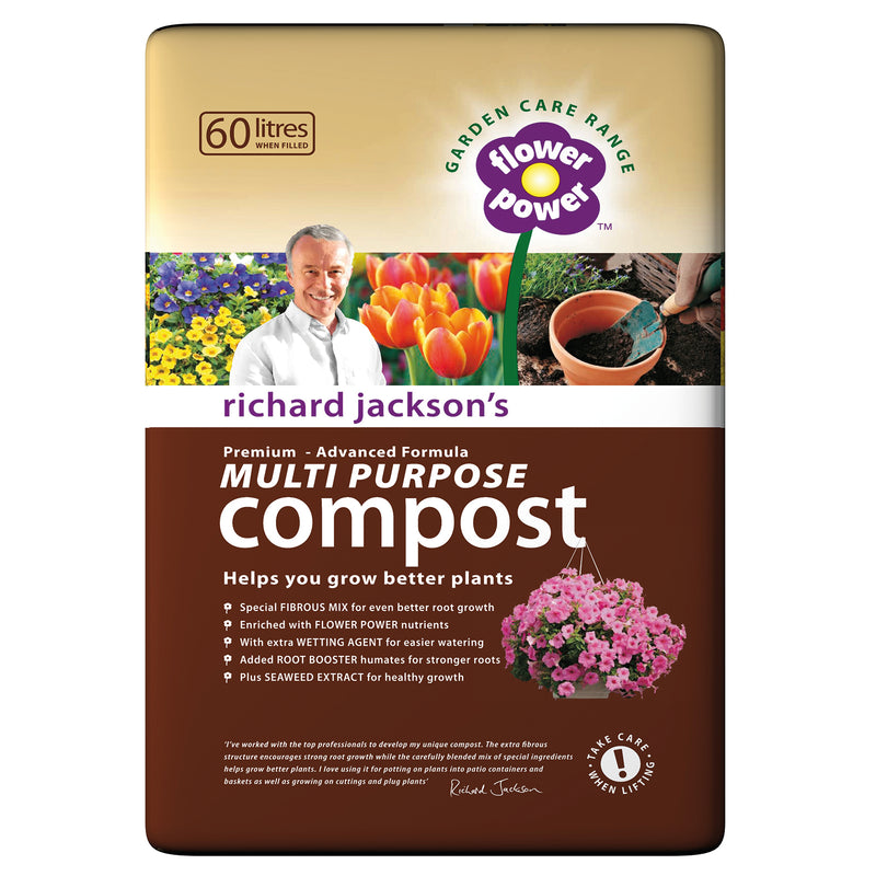 Richard Jackson's Multi Purpose Compost 60L