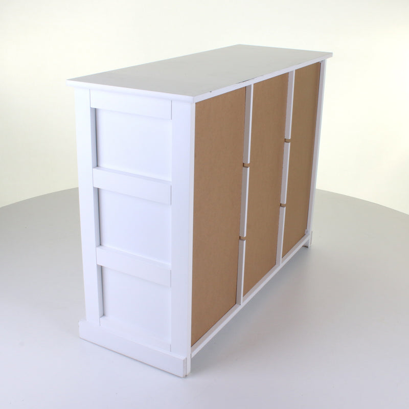 9 Drawer White Chest