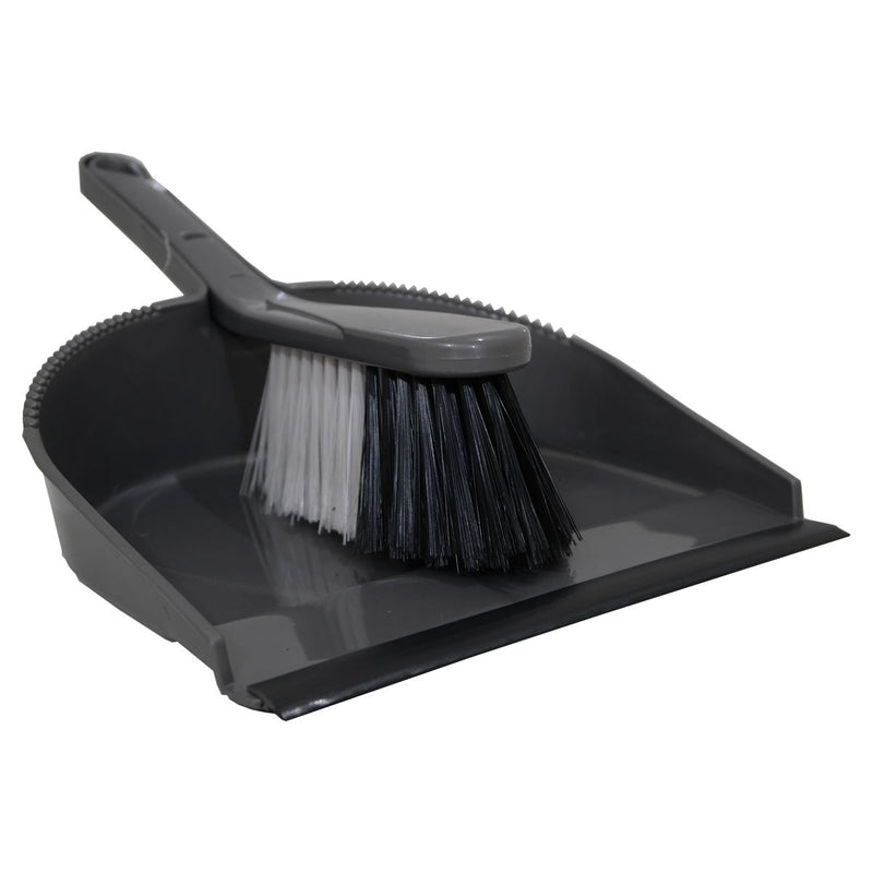 Dustpan & Brush - Silver