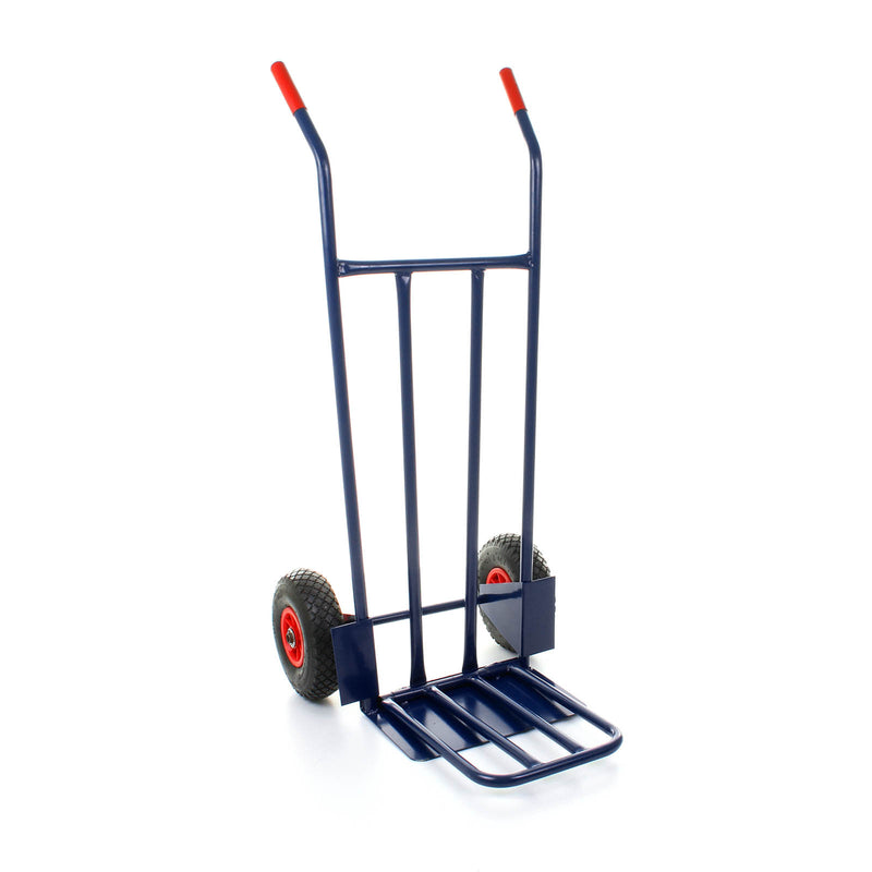 Sack Truck with Folding Toeplate - Inflatable Tyres