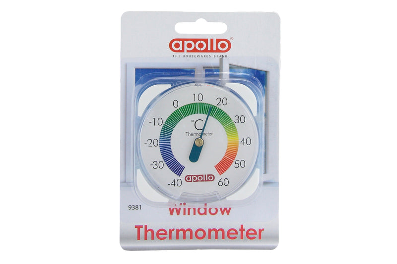 Window Thermometer Plastic