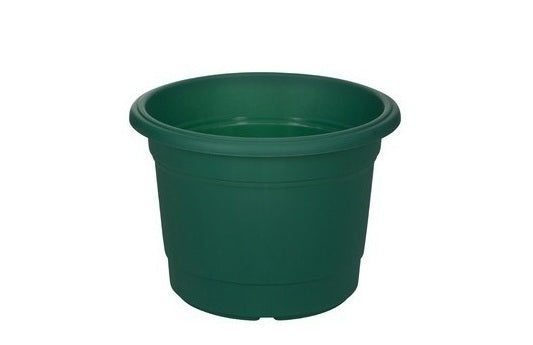 Round Milano Planter Green