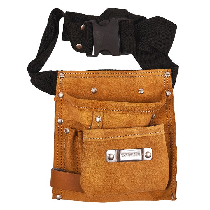 6 Pocket Leather Tool Belt