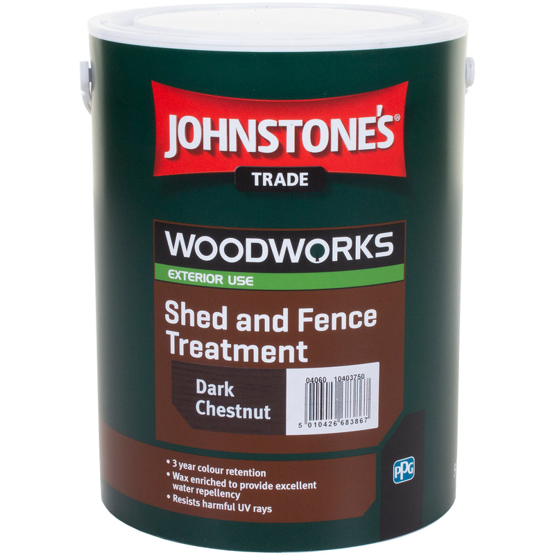 5L Woodworks Shed & Fence Paint - Dark Chestnut