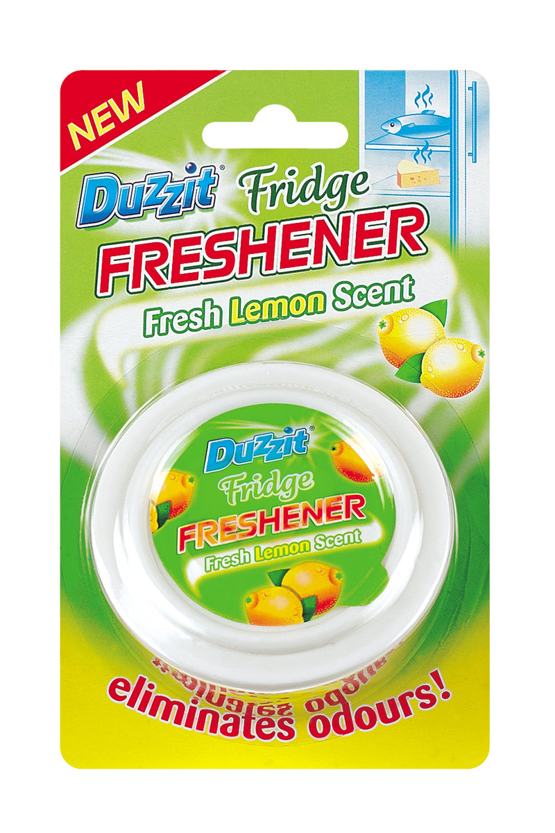 Oval Fridge Freshener Lemon