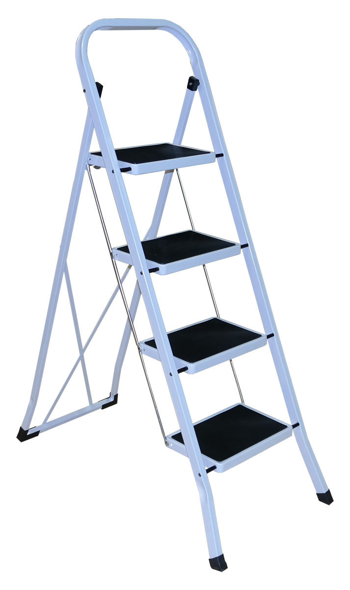 4 Step White Ladder