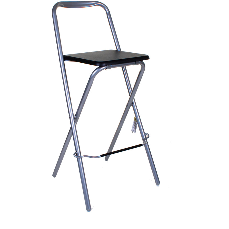 Kempsey Folding Bar Stool - Black