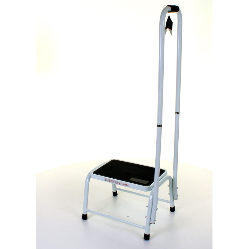 Step Stool with Tall Handle