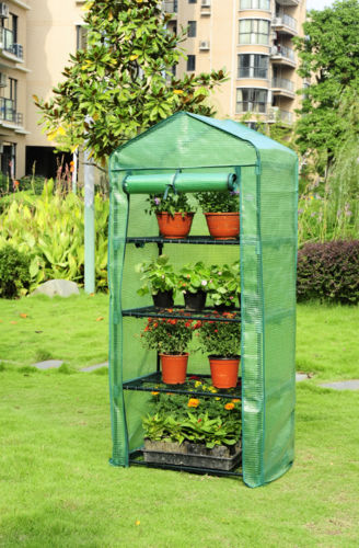 4 Tier Mini Greenhouse