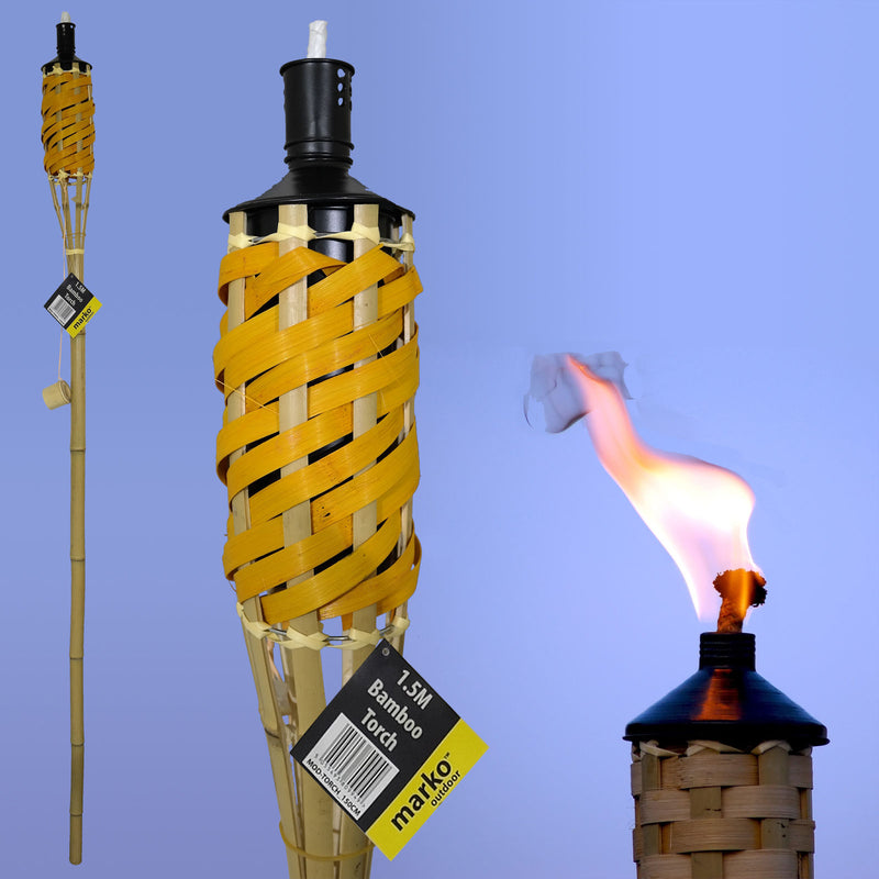 1.5M Bamboo Torch