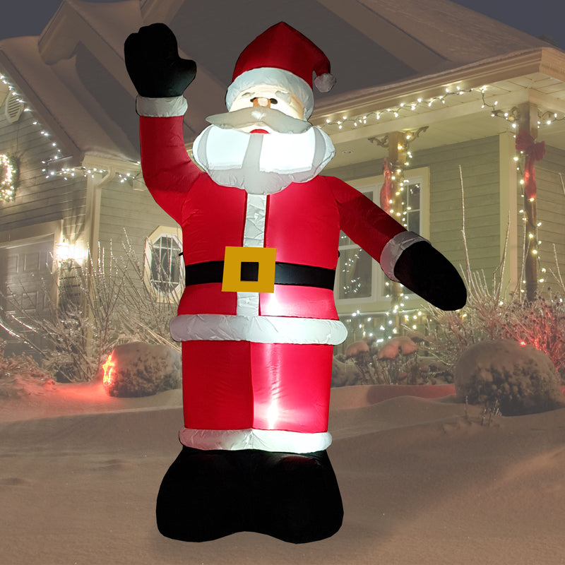 8FT Inflatable Father Christmas