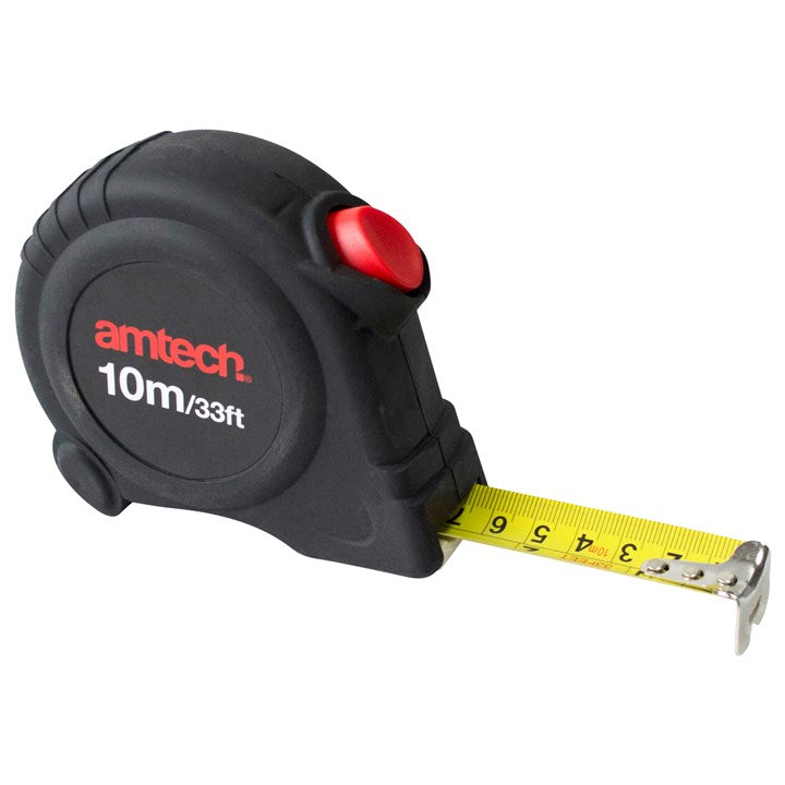 10M X 25mm Self Locking Measuring Tape
