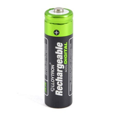 Rechargeable Batteries AA 1300mAh 4pk